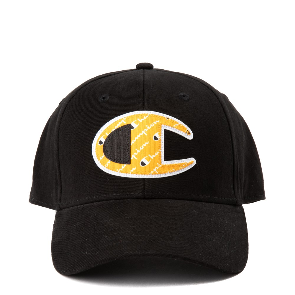 Champion Script Logo Patch Snapback Cap