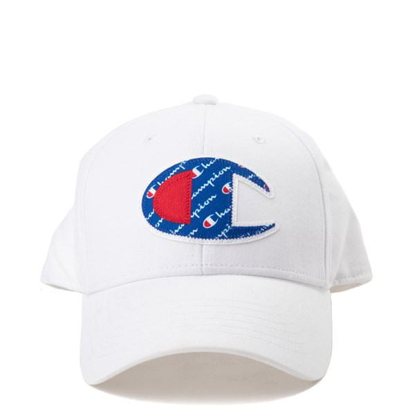 Champion Script Logo Patch Snapback Cap