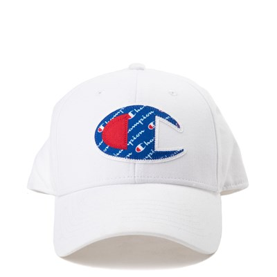 Main view of Champion Script Logo Patch Snapback Cap