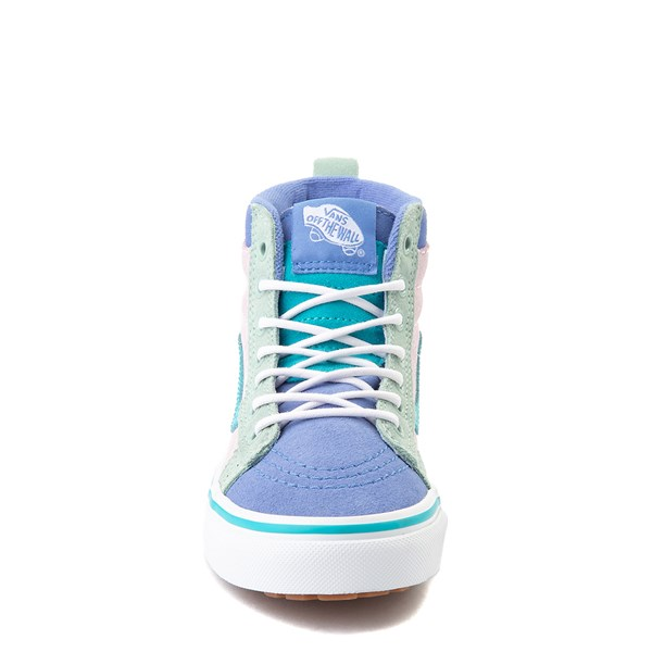 alternate view Vans Sk8 Hi MTE Color-Block Skate Shoe - Little Kid / Big Kid - Lilac Snow / UltramarineALT4