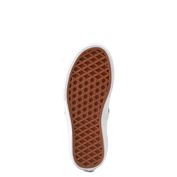 alternate view Vans Slip On Flipping Sequins Skate Shoe - Little Kid / Big Kid - Black / WhiteALT5