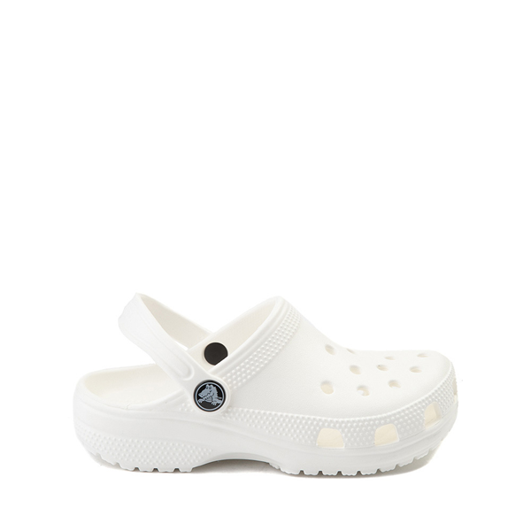 Main view of Crocs Classic Clog - Little Kid / Big Kid - White