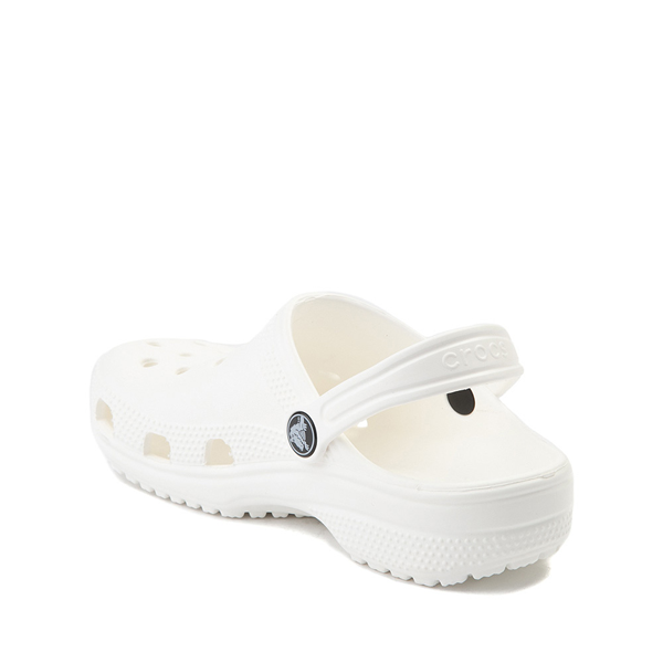alternate view Crocs Classic Clog - Little Kid / Big Kid - WhiteALT1