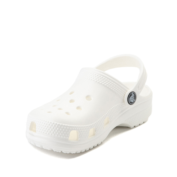 alternate view Crocs Classic Clog - Little Kid / Big Kid - WhiteALT2