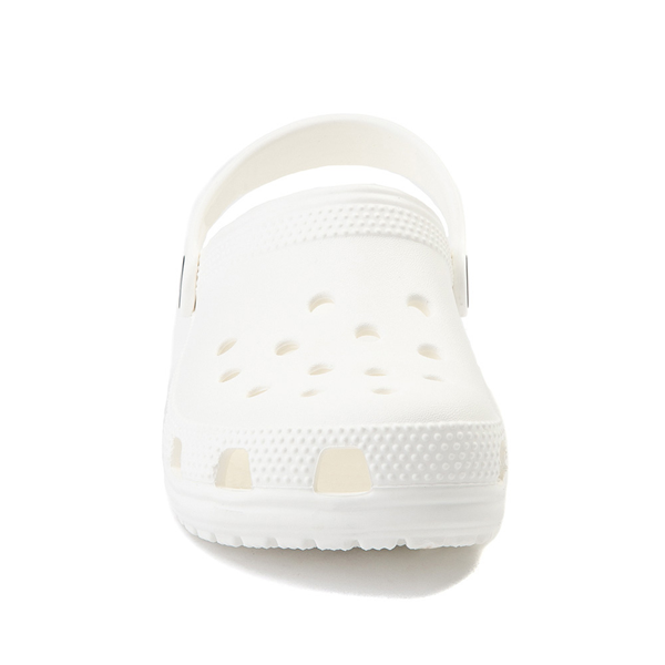 alternate view Crocs Classic Clog - Little Kid / Big Kid - WhiteALT4