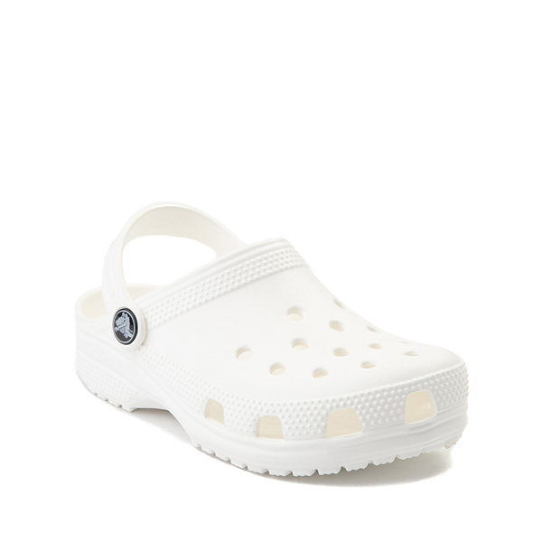 alternate view Crocs Classic Clog - Little Kid / Big Kid - WhiteALT5