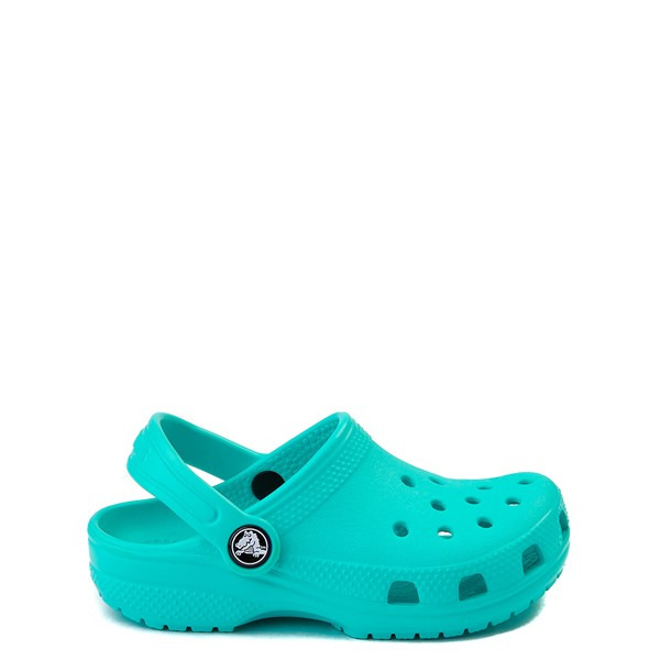 Main view of Crocs Classic Clog - Little Kid - Pool Blue