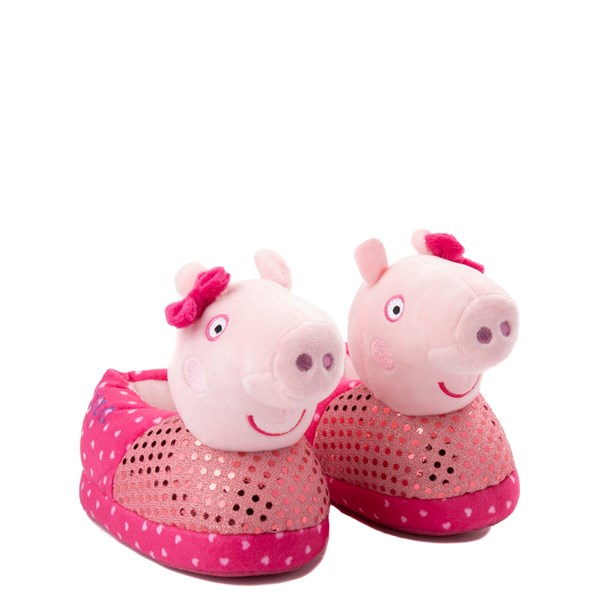alternate view Peppa Pig Oink Slippers - Toddler - PinkALT1