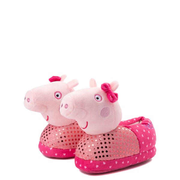alternate view Peppa Pig Oink Slippers - Toddler - PinkALT3