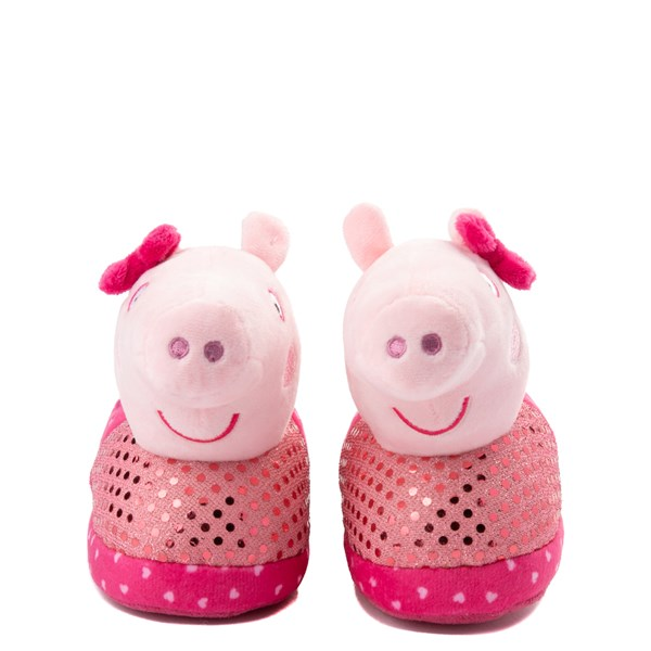 alternate view Peppa Pig Oink Slippers - Toddler - PinkALT4