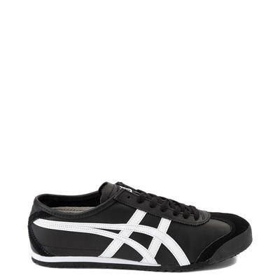 Main view of Mens Onitsuka Tiger Mexico 66 Athletic Shoe - Black / White