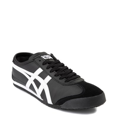 Alternate view of Mens Onitsuka Tiger Mexico 66 Athletic Shoe - Black / White