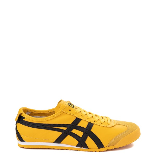 Main view of Mens Onitsuka Tiger Mexico 66 Athletic Shoe - Yellow / Black