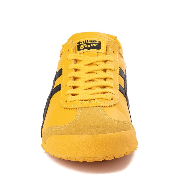alternate view Mens Onitsuka Tiger Mexico 66 Athletic Shoe - Yellow / BlackALT4
