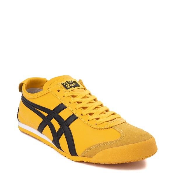 alternate view Mens Onitsuka Tiger Mexico 66 Athletic Shoe - Yellow / BlackALT5