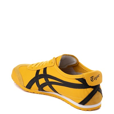 Alternate view of Mens Onitsuka Tiger Mexico 66 Athletic Shoe - Yellow / Black