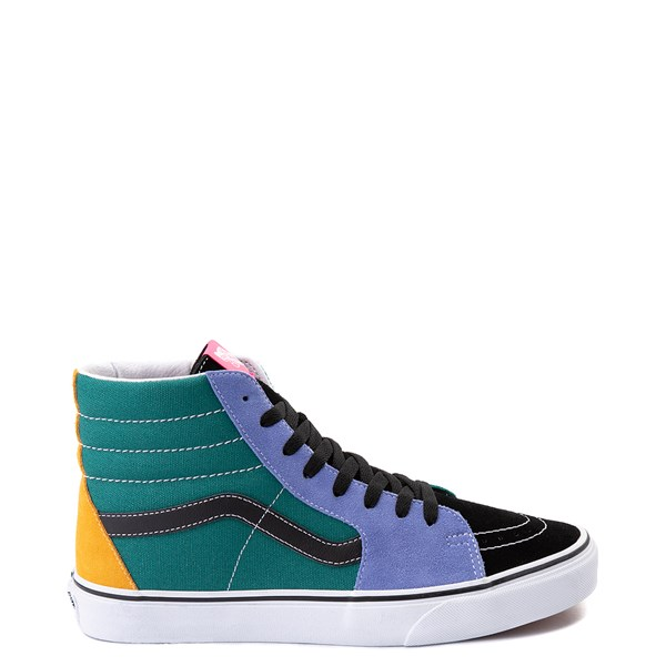 Main view of Vans Sk8 Hi Mix & Match Skate Shoe - Multi
