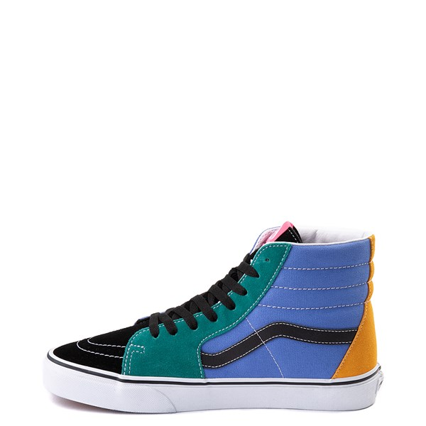 alternate view Vans Sk8 Hi Mix & Match Skate Shoe - MultiALT1