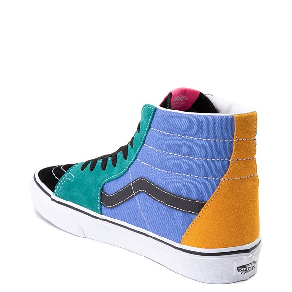 alternate view Vans Sk8 Hi Mix & Match Skate Shoe - MultiALT2