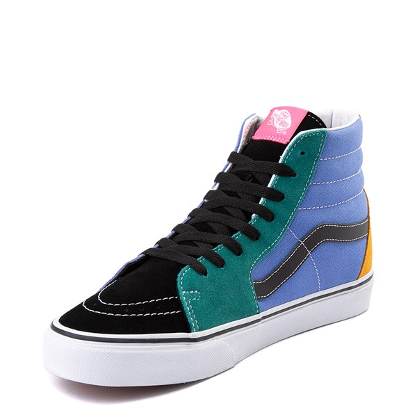alternate view Vans Sk8 Hi Mix & Match Skate Shoe - MultiALT3