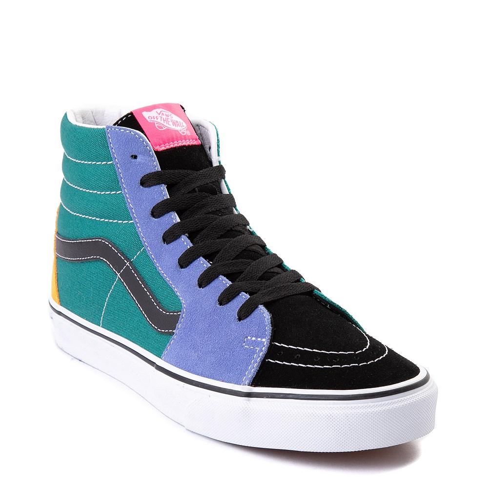 Vans Sk8 Hi Mix & Match Skate Shoe Multi