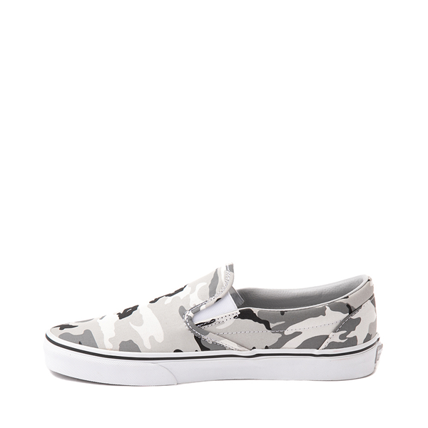 Alternate view of Vans Slip On Skate Shoe - Gray Camo