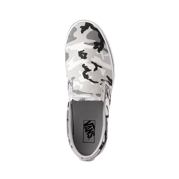 alternate view Vans Slip On Skate Shoe - Gray CamoALT2