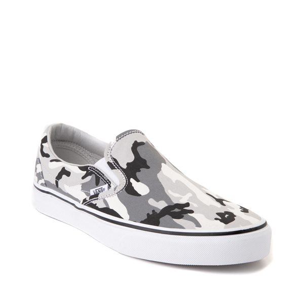 alternate view Vans Slip On Skate Shoe - Gray CamoALT5
