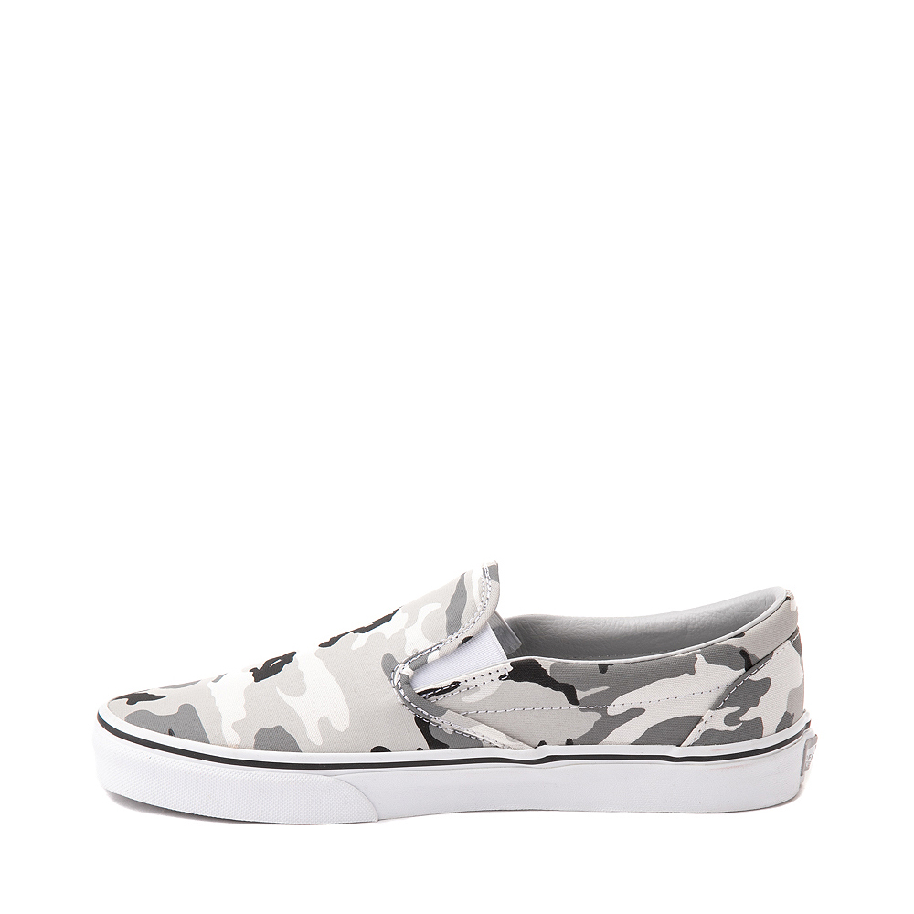 assegnazione Donna presente  Vans Slip On Skate Shoe - Gray Camo | Journeys