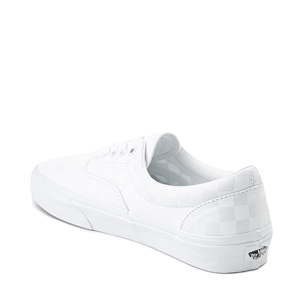 alternate view Vans Era Tonal Checkerboard Skate Shoe - True WhiteALT1