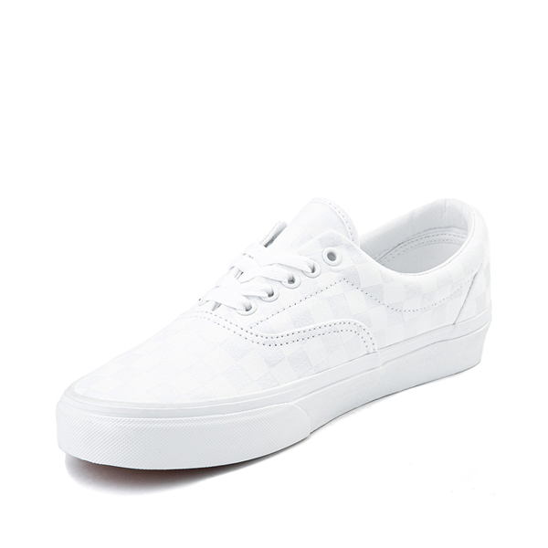 alternate view Vans Era Tonal Checkerboard Skate Shoe - True WhiteALT2