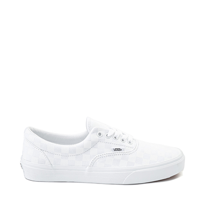 Main view of Vans Era Tonal Checkerboard Skate Shoe - True White