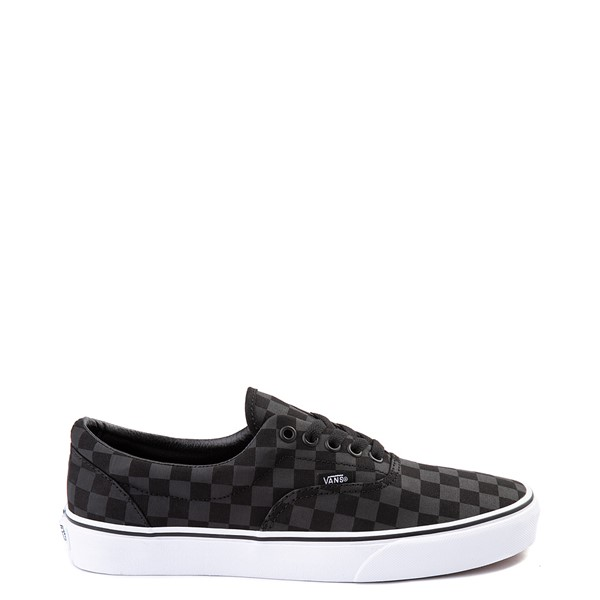 Default view of Vans Era Tonal Checkerboard Skate Shoe - Black