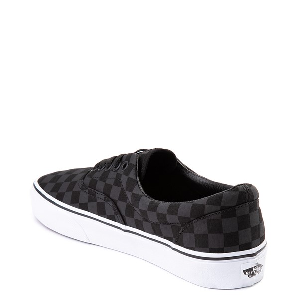 alternate view Vans Era Tonal Checkerboard Skate Shoe - BlackALT1
