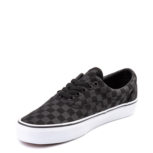 alternate view Vans Era Tonal Checkerboard Skate Shoe - BlackALT2