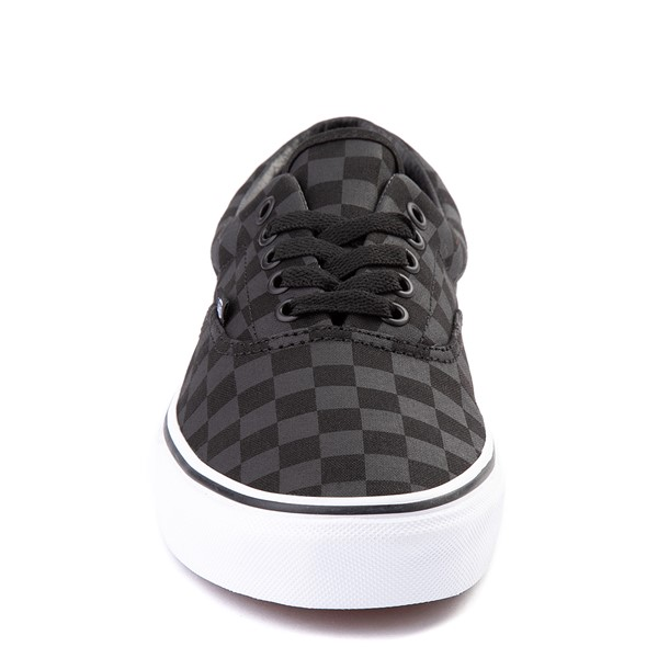 alternate view Vans Era Tonal Checkerboard Skate Shoe - BlackALT4
