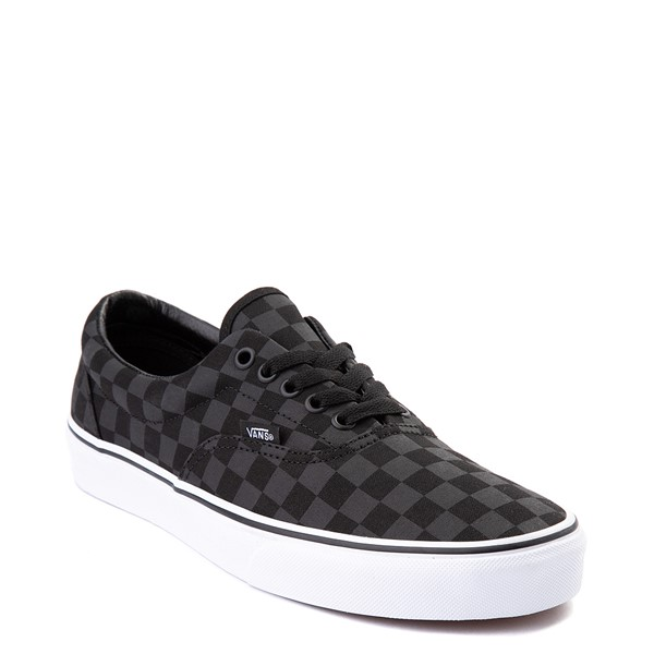 alternate view Vans Era Tonal Checkerboard Skate Shoe - BlackALT5