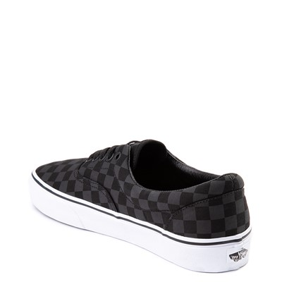 Alternate view of Vans Era Tonal Checkerboard Skate Shoe - Black