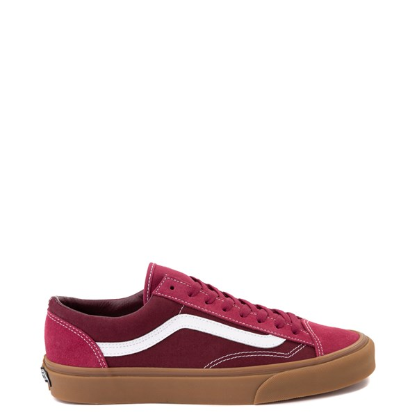 Main view of Vans Style 36 Skate Shoe - Beet Red / Port Royale