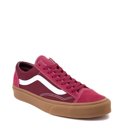 Alternate view of Vans Style 36 Skate Shoe - Beet Red / Port Royale