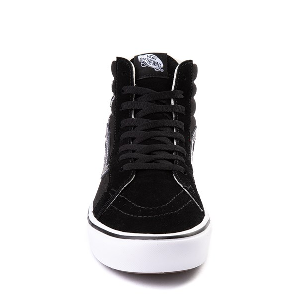alternate view Vans Sk8 Hi ComfyCush® Distort Skate Shoe - BlackALT4