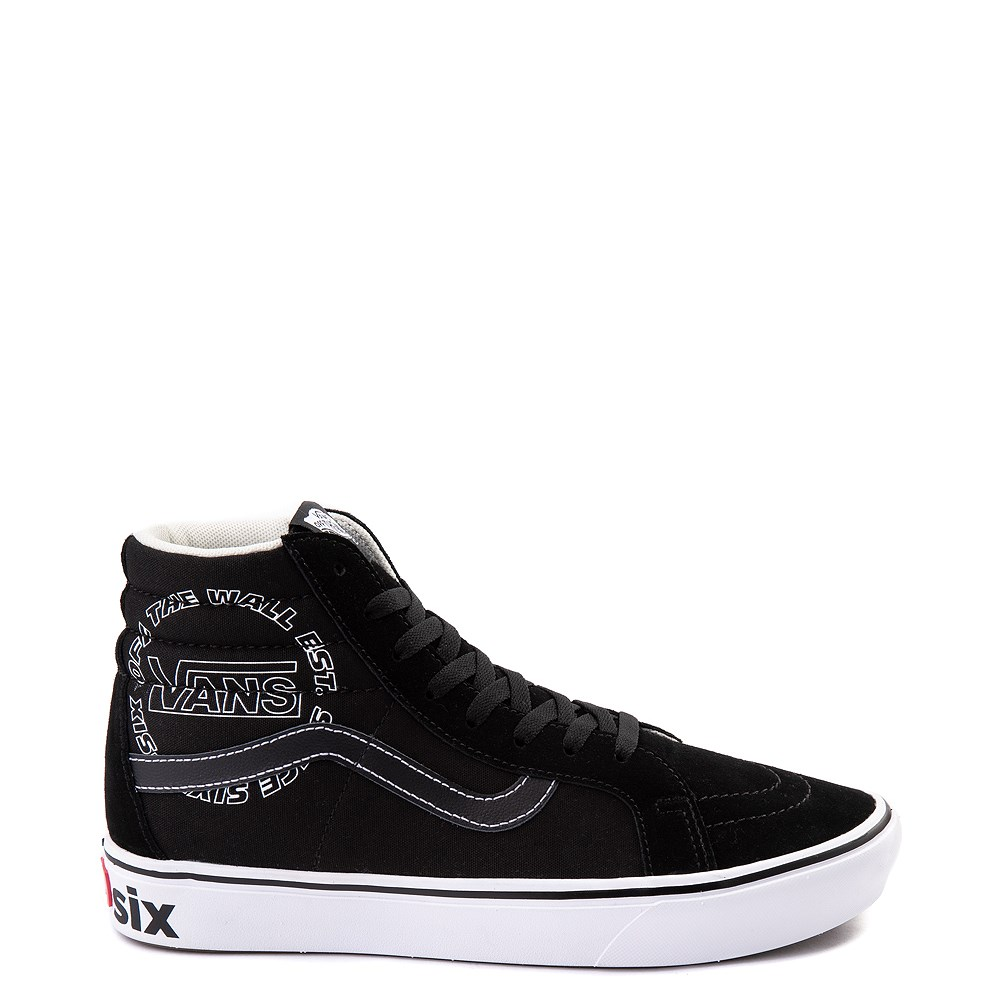 Vans Sk8 Hi ComfyCush® Distort Skate Shoe - Black