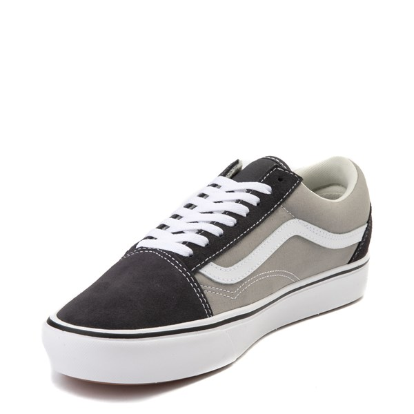 alternate view Vans Old Skool ComfyCush® Skate Shoe - Asphalt / Drizzle GrayALT3
