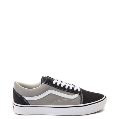 Main view of Vans Old Skool ComfyCush® Skate Shoe - Asphalt / Drizzle Gray