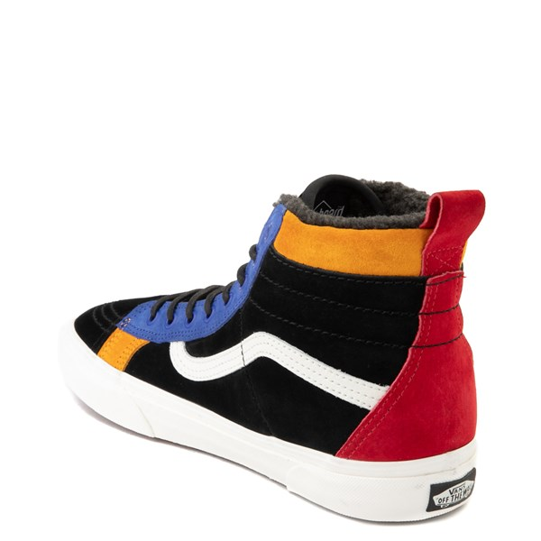 alternate view Vans Sk8 Hi 46 MTE DX Skate Shoe - Black / MultiALT2