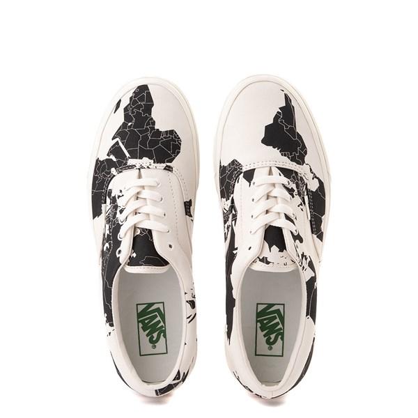 "alternate view Vans Era ""Save Our Planet"" Skate Shoe - White / BlackALT6"