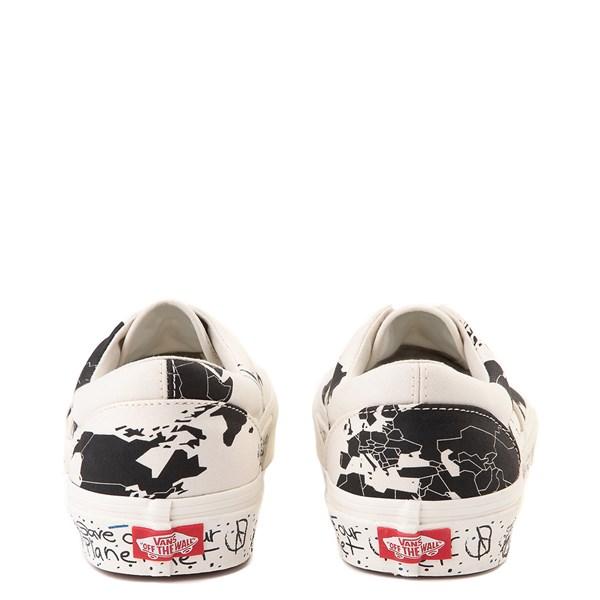 "alternate view Vans Era ""Save Our Planet"" Skate Shoe - White / BlackALT7"