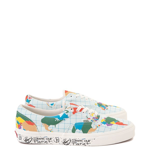 "Vans Era ""Save Our Planet"" Skate Shoe - White / Multi"