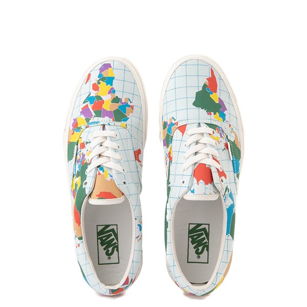 "alternate view Vans Era ""Save Our Planet"" Skate Shoe - White / MultiALT6"