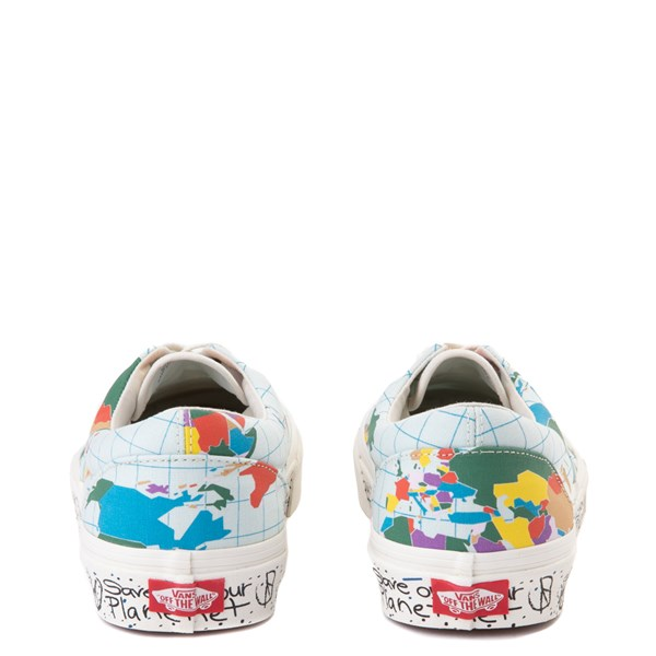 "alternate view Vans Era ""Save Our Planet"" Skate Shoe - White / MultiALT7"